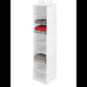 Honey Can Do 8-Shelf Polyester Hanging Organizer,